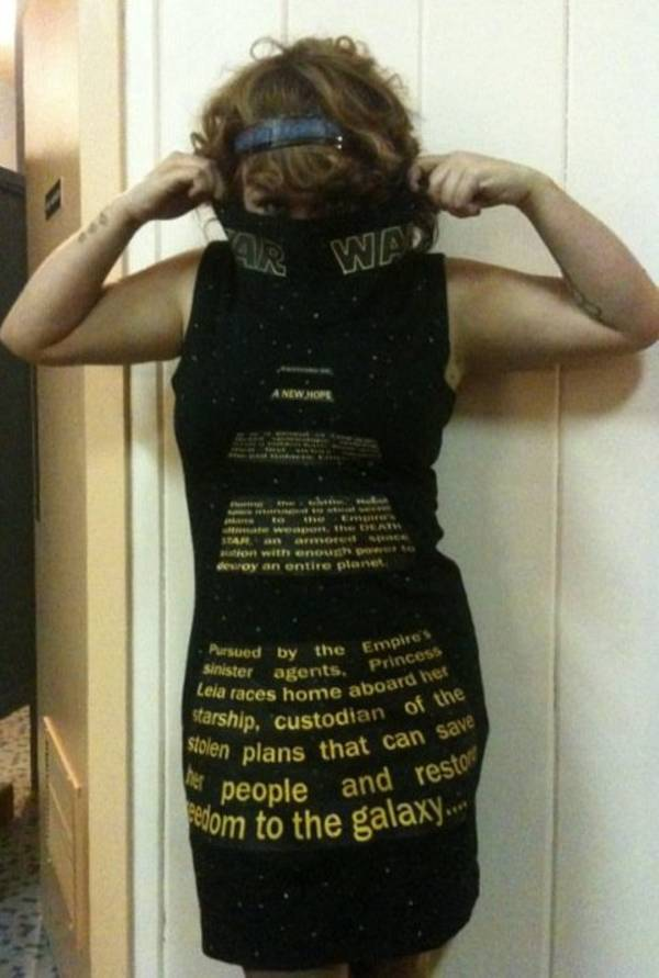 Star Wars Crawl Dress