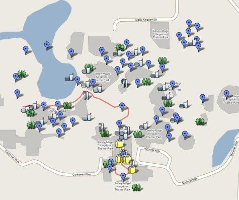 walt disney world map. A Walt Disney World enthusiast